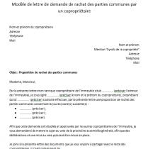 Modele De Courrier D Appel De Charges De Copropriete